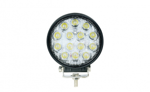 Proiector LED auto offroad 42W 12V-24V, 3080 lumeni, rotund