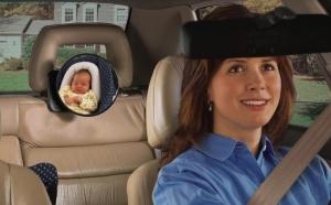Oglinda auto pentru supravegherea copiilor la doar 59 RON in loc de 149 RON! Garantie 12 luni!