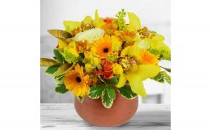 Aranjament floral - Abundenta florilor, Dragobete, Ea