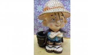 Pusculita Ceramica - suport creioane, la 51 RON in loc de 102 RON