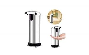 Dozator de sapun metalic cu senzor, TeamDeals 10 Ani, Casa & Gradina