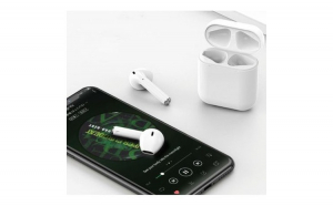 Casti Bluetooth Wireless i11, Profesionale, Microfon, Apeluri telefon, Super Bass, Crystal Surround Stereo, Compatibile Android & iOS