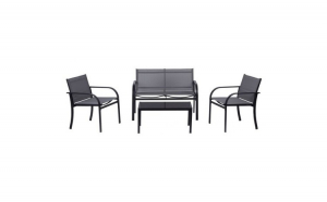 Set canapea cu 2 locuri, 2 scaune, 1