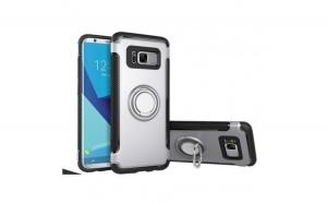 Husa Samsung Galaxy S8 Motomo Ring Argintiu