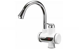 Robinet instant de apa calda cu afisaj digital Freddo ERT-SN 0025, 60 grade, 220 V, 3000 W, Montare chiuveta