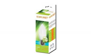 Bec LED Ecoplanet lumanare C35, E27, 5W