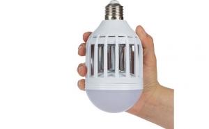 Bec LED 2 in 1 cu lampa UV anti-insecte