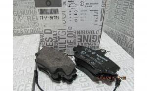Set placute frana fata Dacia Logan 1,5 DCI Originale 7711130071