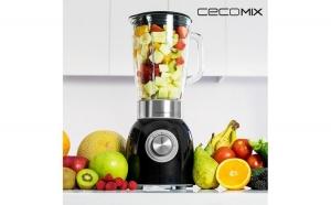 Mixer cu Pahar Cecomix Titanium Black 4060 1000W
