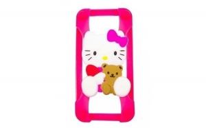Bumper Iphone 4 4s 5 5s 5c 6 6s SE Hello Kitty SILICON