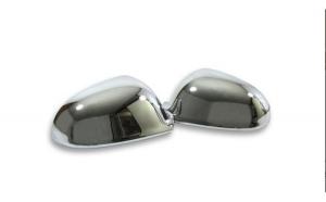 Set ornamente crom pentru oglinda compatibil Skoda Octavia II  2009-2013 EVO