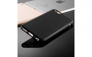 Husa Iphone 7 Plus/8 Plus - Carbon Style, super slim, anti-shock