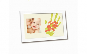 Rama foto cu amprenta mamei si a bebelus