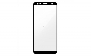 Folie Sticla Samsung Galaxy J4 Plus 2018 Flippy Full Face Negru