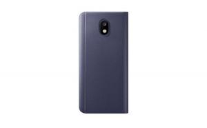 Husa compatibila Samsung J3 2017 Book Clear View Standing Cover (Oglinda) Albastra (Blue)