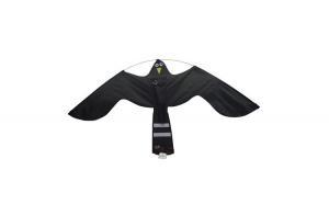 Zmeu Soim Negru 1,40 M Impotriva Pasarilor  - Black Hawk Kite ® Votton - Porumbei, Ciori, Grauri, Vrabii, Pescarusi, Cormorani. Fabricat in EU ®