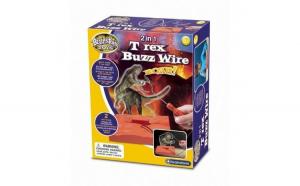 2 in 1 T Rex Buzz Wire Brainstorm Toys