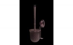 Suport cu perie WC cu ventuza-Sistem Everloc Rorets