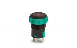 Buton de comanda 12V ND, LED Rosu GLZ-09151RD