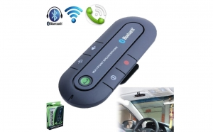 Car Kit cu Bluetooth - Handsfree - pentru masina sau oriunde ai nevoie sa vorbesti la telefon cu mainile libere