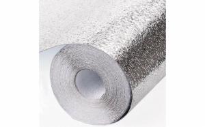 Folie de aluminiu autoadeziva bucatarie, 60 x 300 cm