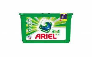 Ariel gel capsule