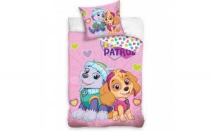 Set lenjerie pat copii Paw Patrol Skye