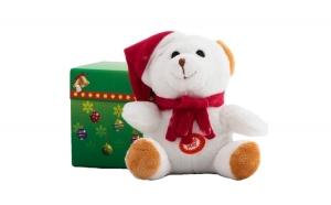 Ursulet alb de plus