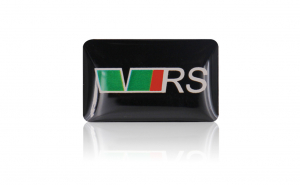Embleme silicon Skoda Vrs, set de 10 bucati