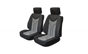 Huse scaune auto RENAULT MEGANE II 2001-2010  ANATOMIC,set 2 buc,partea fata