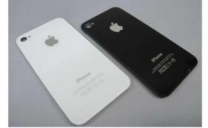 Capac baterie spate iPhone 4 alb negru  4s alb Spate iphone 4 4s white black