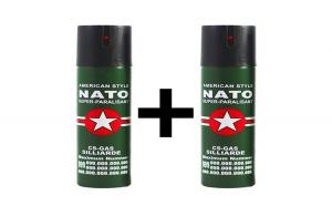 Set 2 Spray Nato, pentru autoaparare