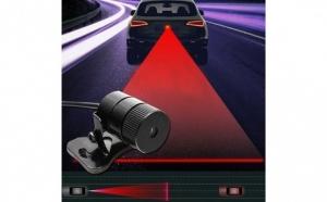 Laser auto pentru condus pe timp de ceata sau noapte, montare prin atasar
