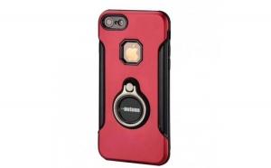 Husa Apple iPhone 7 Plus Motomo Ring Roz