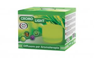 Difuzor uleiuri esentiale Cromo, aromaterapie cu ultrasunete Cromo Light Brand Italia 100mp acoperire
