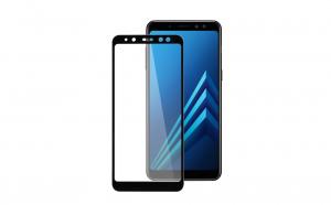 Folie sticla securizata Full Screen - Samsung Galaxy A8 2018 A530, Negru
