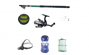 Set pescuit sportiv cu lanseta 3,6 m