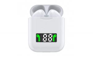 Casti i99 TWS Techstar®  Bluetooth 5.0  Incarcare Wireless QI  Afisaj Digital  Waterproof IPX6