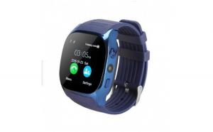 Ceas Smartwatch Techstar® T8 Albastru  Cartela SIM  1.54 inch  Apelare  Radio FM  Alerte  Sedentarism  Hidratare  Bluetooth 4.0