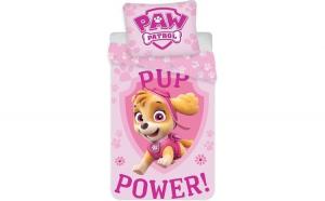 Set lenjerie pat copii Paw Patrol Pup