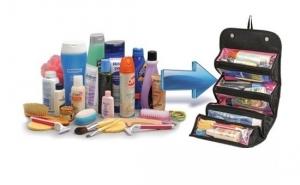 Geanta-organizator pentru cosmetice si accesorii