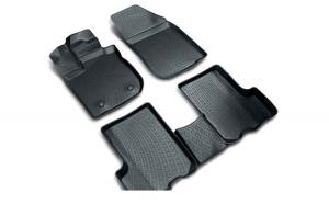 Covoare cauciuc stil tavita BMW F10/F11 seria 5 facelift 2013-> ( 3D 0024 -  A10 )