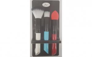 Set pensule pentru ten si ochi, multicolor