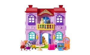 Peppa Pig,Vila cu doua etaje si figurine