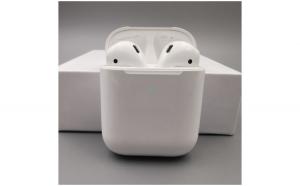 Casti i9000 TWS AIR 2 Techstar®  Bluetooth 5.0  Wireless QI  Pentru Android si iOS  Alb  Rezistente la Apa