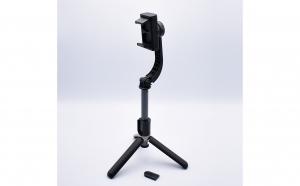 Stabilizator De Imagine Gimbal, Cu Trepied, Telecomanda Si Bluetooth