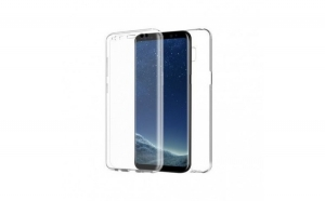 Husa Samsung S8 Flippy Full Tpu 360 Transparent
