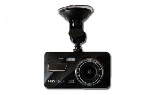 Camera auto dubla, Full HD, bord si spate, lentila dubla cu rezolutie ultra, 170 grade unghi extra-larg de filmare, touchscreen, senzor G, vedere nocturna, asistenta parcare
