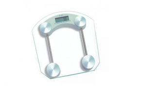 Cantar de baie digital din sticla la pretul de doar 45 RON in loc de 108 RON