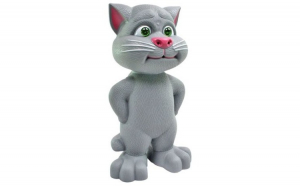 Jucarie Talking Tom educativa, amuzanta